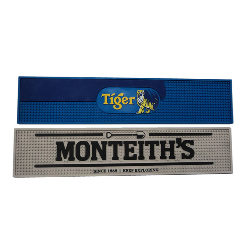 Soft Injection Bar Mats With Logos