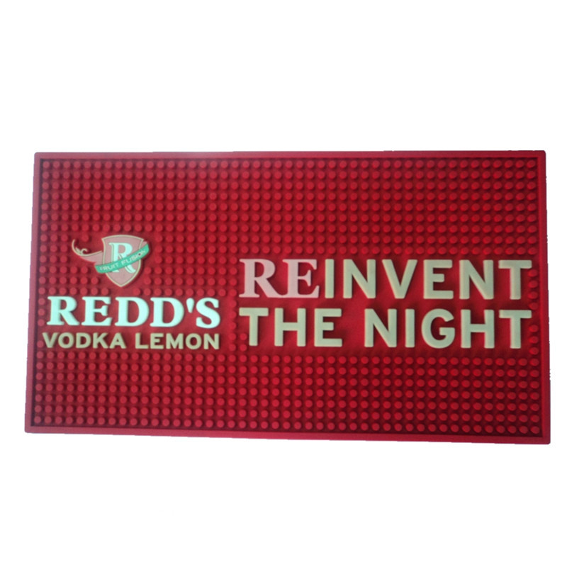 Rectangle Promotional Bar Shaker Mat