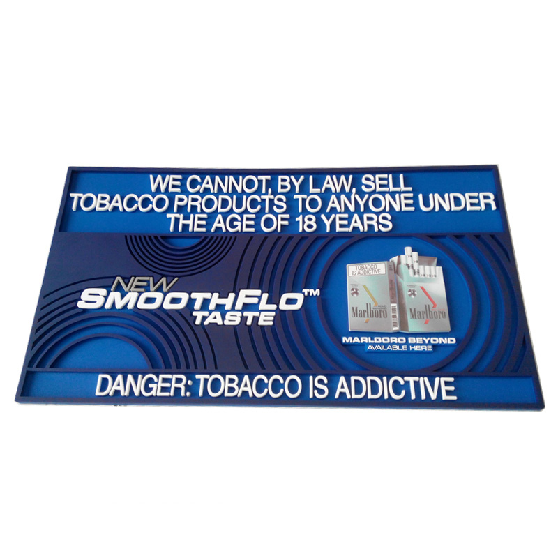Full Color Printing Logo Bar Rail Mats