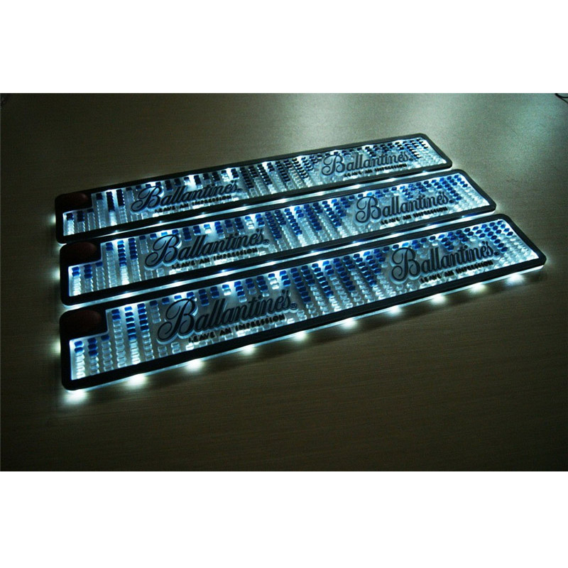 PVC LED Light Illuminated Bar Mat