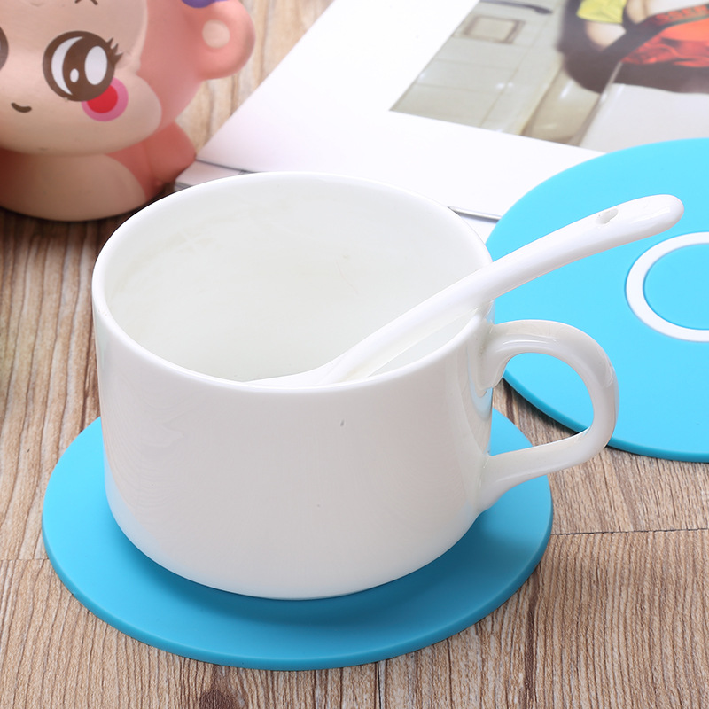 Silicon Rubber Soft PVC Heat Resistant Cup Mat