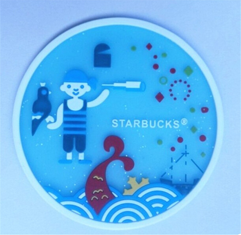 Anti-slip New Design Silicone Cup Mat