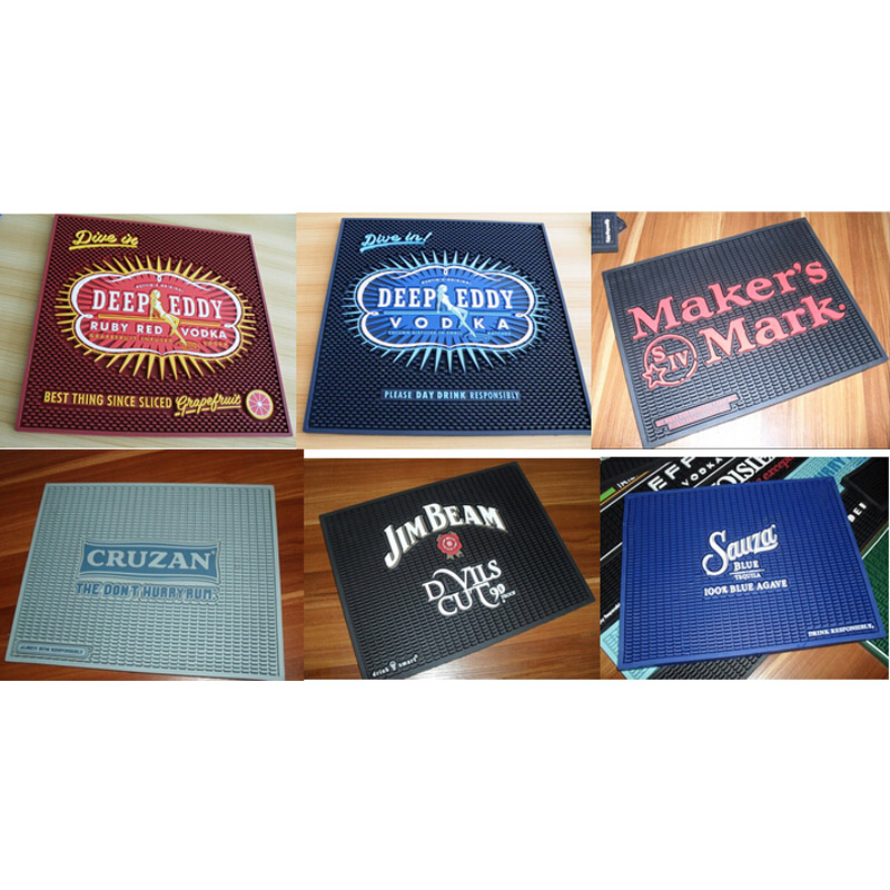 Custom Bar Mats Rubber
