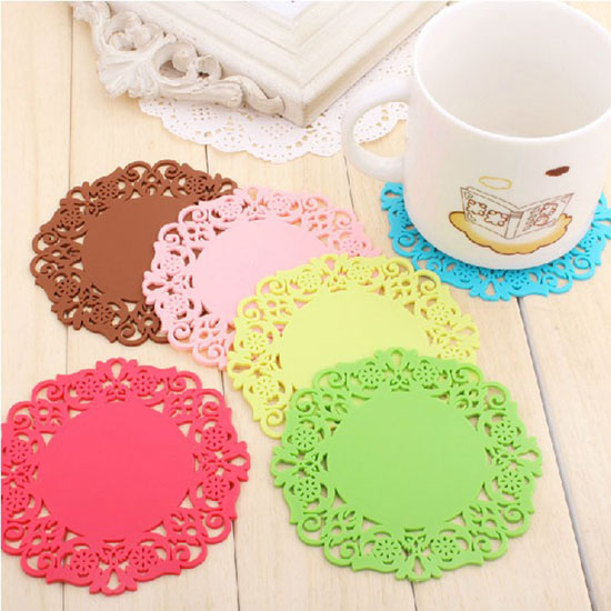 Lace Drink Coasters
