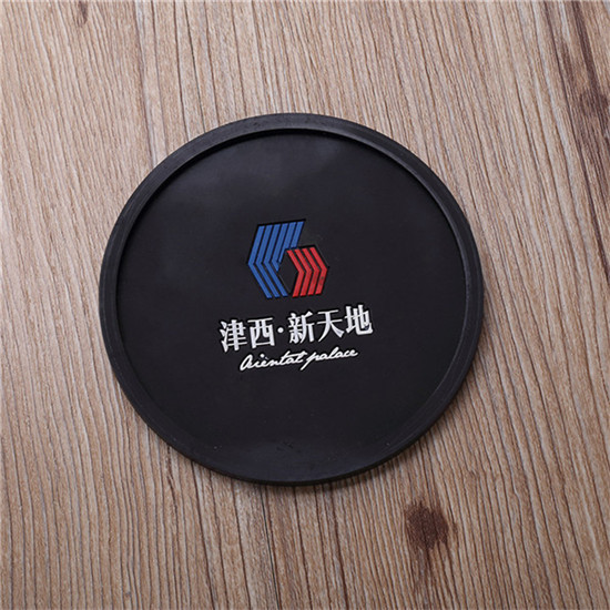 Rimmed coasters