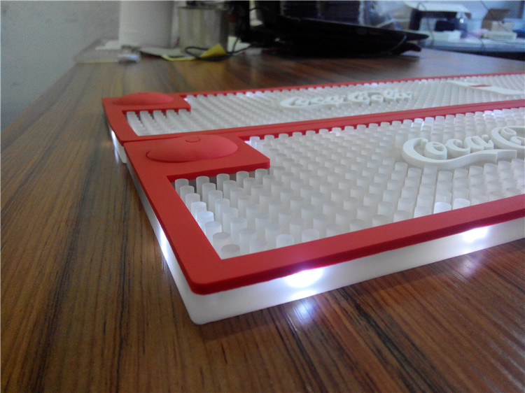 led bar mat 3