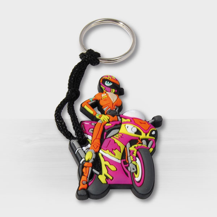 Custom Rubber Keychain With 3D Aspect 5