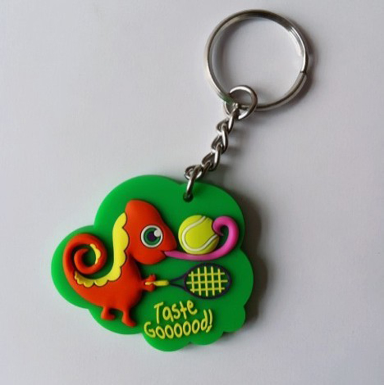 Custom Rubber Keychain With 3D Aspect 6