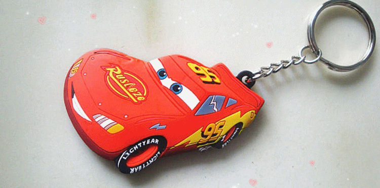 Custom Rubber Keychain With 3D Aspect 8