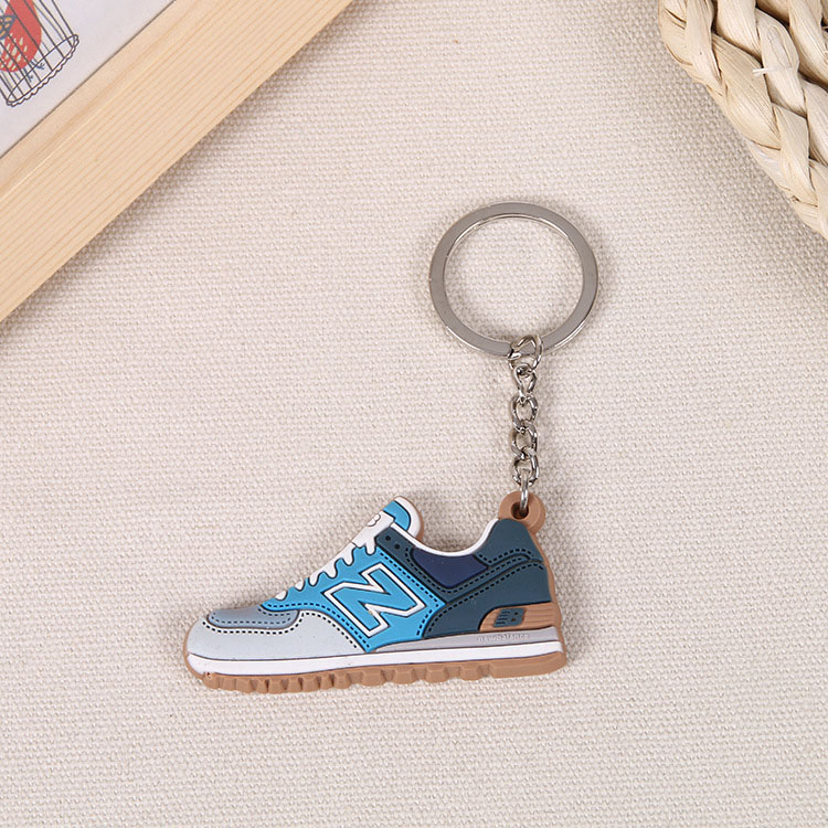Custom PVC Rubber Shoes Keychain 8