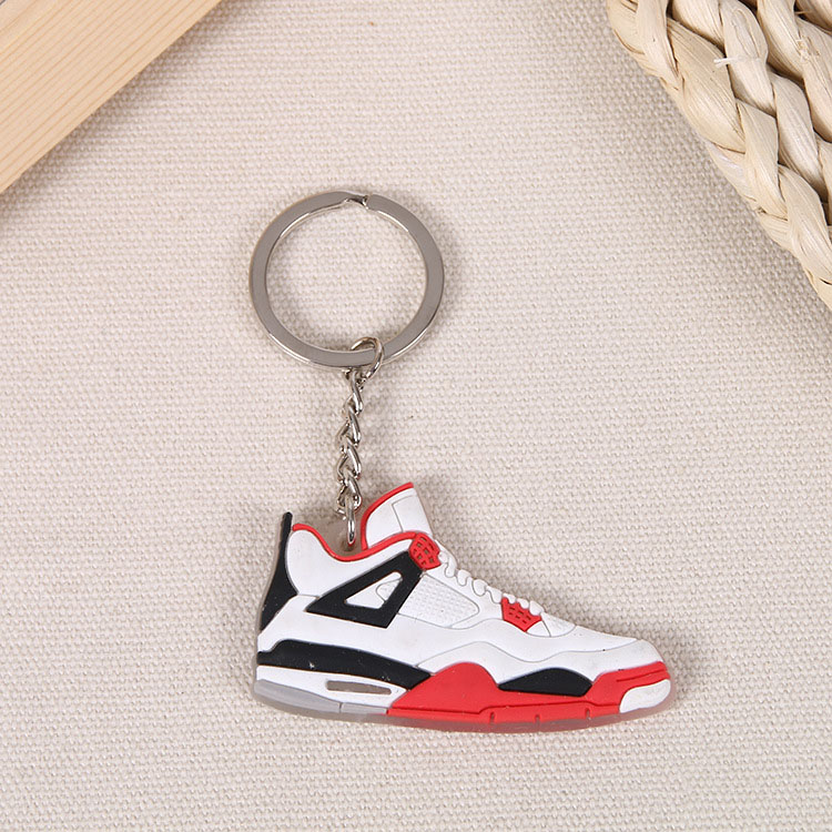 Custom PVC Rubber Shoes Keychain 9