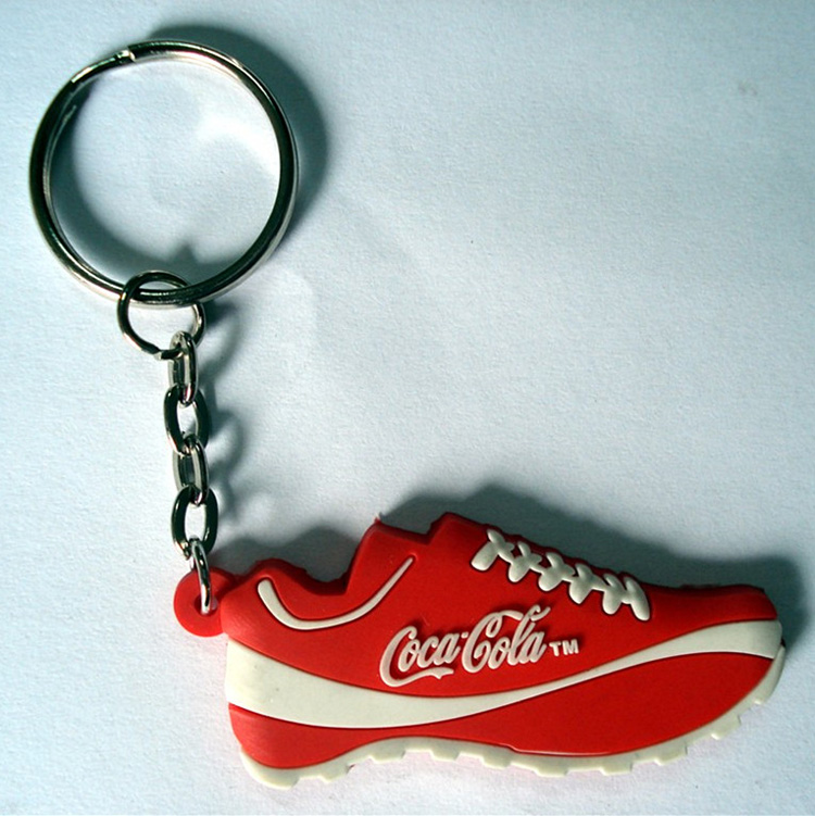 Custom PVC Rubber Shoes Keychain 10