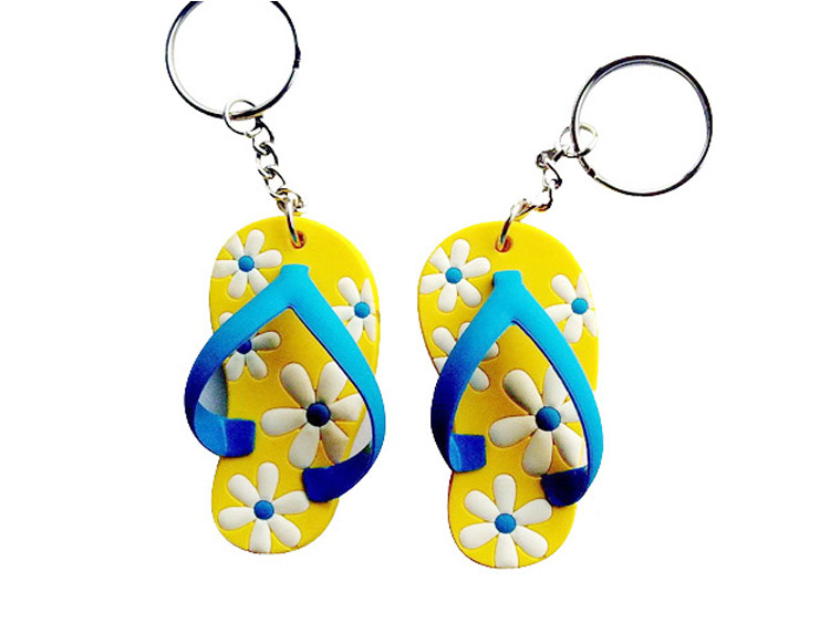 Custom PVC Rubber Shoes Keychain 14