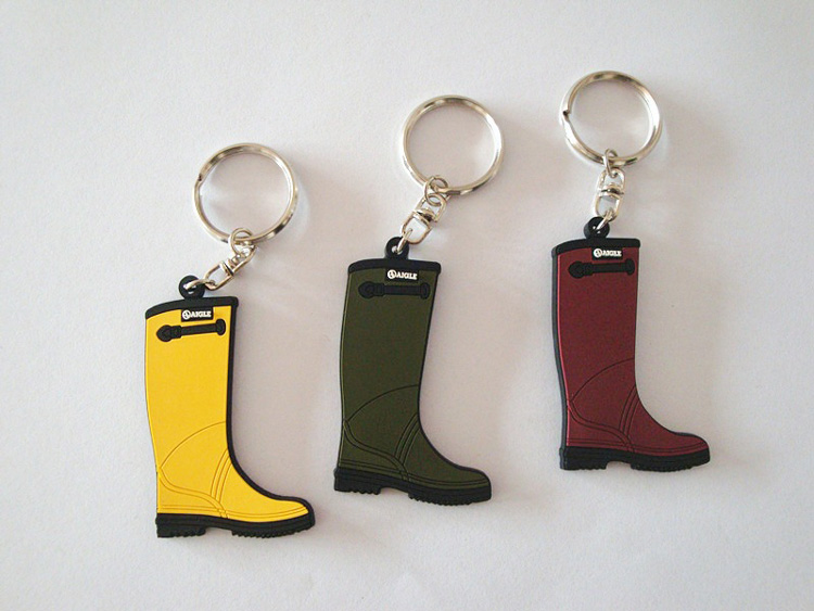 Custom PVC Rubber Shoes Keychain 15